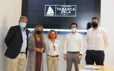 La Diputación de Alicante presenta oficialmente en el Palacio Provincial la XXV edición de la Tabarca-Vela