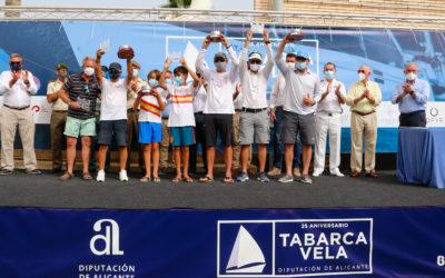 Pez de Abril y El Carmen Elite Sails, grandes vencedores del 25º Tabarca Vela Diputación de Alicante