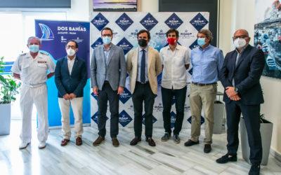 La regata Dos Bahías ha sido presentada en el Real Club Náutico de Palma con la presencia de la directiva del Real Club de Regatas de Alicante